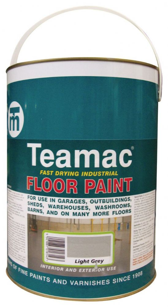Teamac Industrial Floor Paint 5L